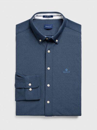 GANT חולצות מכופתרות – TP PIQUE SOLID SLIM BD