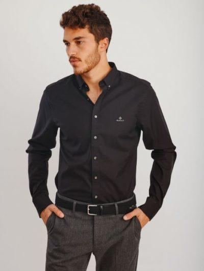 GANT חולצות מכופתרות – PINPOINT OXFORD SLIM BD IR