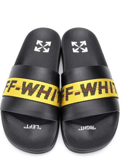 OFF-WHITE – INDUSTRIAL SLIDER BLACK YELLOW