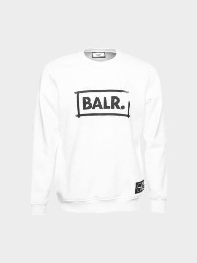 BALR – chalk straight crew neck