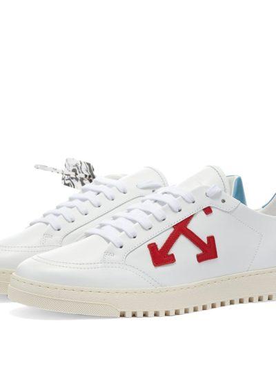 נעליים בצבע לבן דגם OFF-WHITE – 2.0 SNEAKER CALF LEATHER