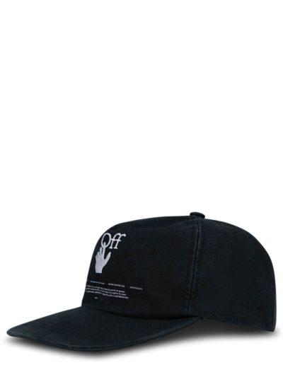 OFF-WHITE – Logo Hand Baseball Cap