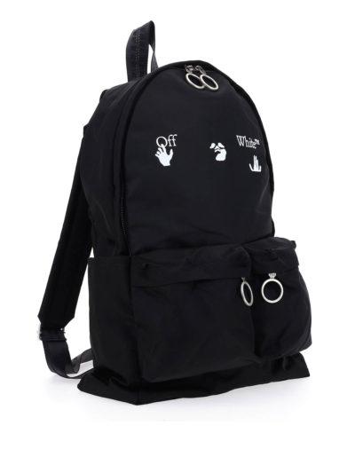 OFF-WHITE – logo-print backpack