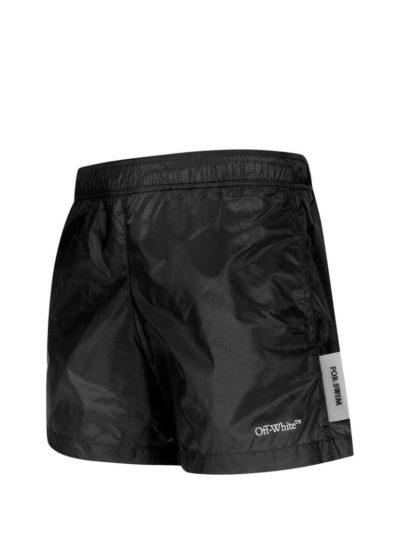 OFF-WHITE – logo print swim shorts