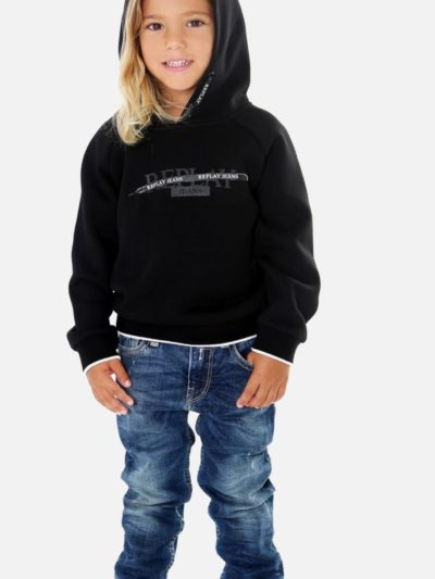 REPLAY – boys crew neck suit