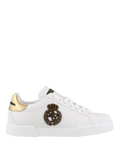DOLCE&GABBANA – sneaker bassa vit