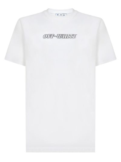 OFF-WHITE – pascal s/s slim tee white nude
