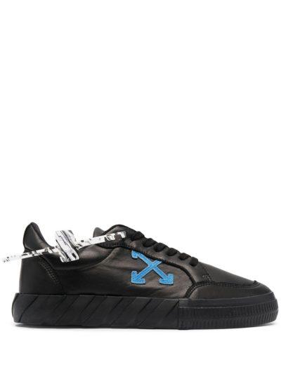 OFF-WHITE – low vulcanized nappa leath black blue