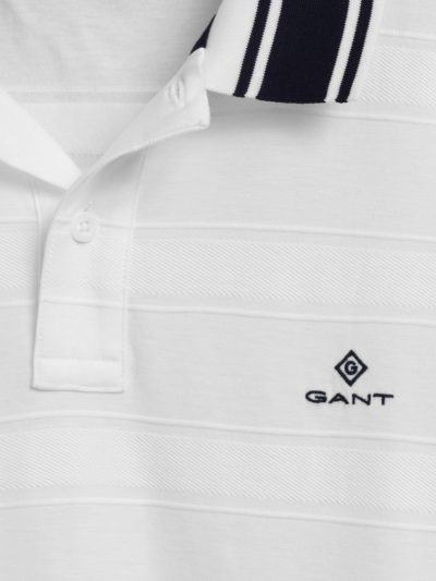 GANT – texture stripe ss rugger