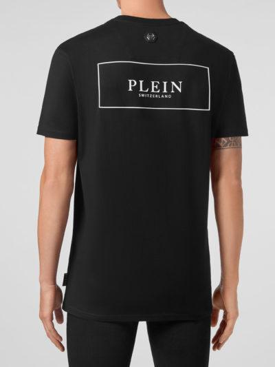 PHILIPP PLEIN – t-shirt round neck ss outline skull