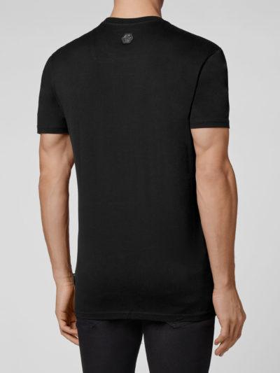 PHILIPP PLEIN – t-shirt round neck ss hexagon