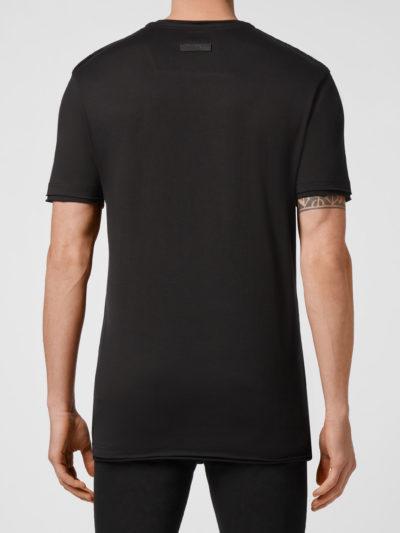 PHILIPP PLEIN  – t-shirt round neck ss iconic plein