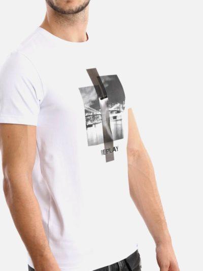 REPLAY – m ctn lycra ss shirt