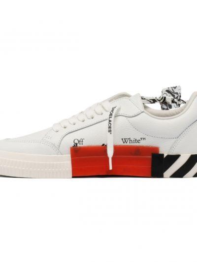 OFF WHITE – low vulcanized calf leathe white blue