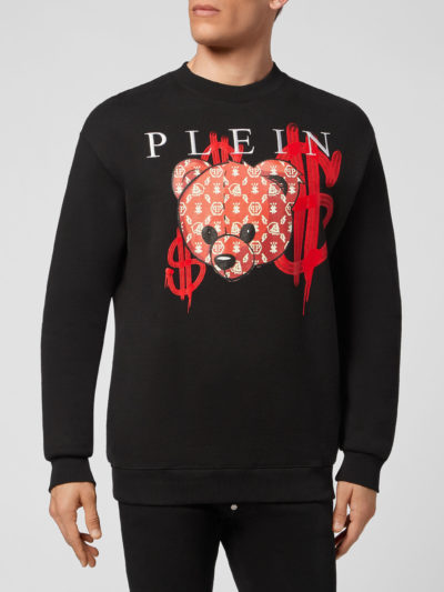 PHILIPP PLEIN  – SWEATSHIRT LS TEDDY BEAR