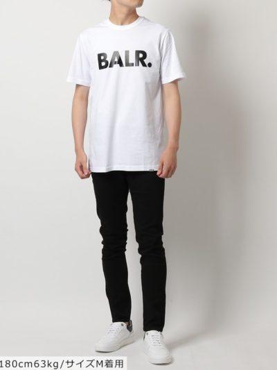 BALR – BRAND STRAIGHT T-SHIRT BRIGHT WHITE