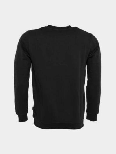 BALR – BRAND STRAIGHT CREWNECK JET BLACK