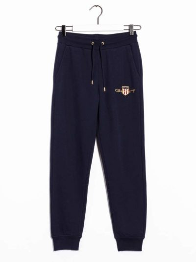 GANT – ARCHIVE SHIELD SWEAT PANT מכנס טרנינג בצבע כחול דגם