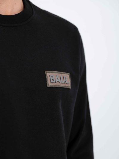 BALR – OLAF STRAIGHT BADGE T-SHIRT BLACK
