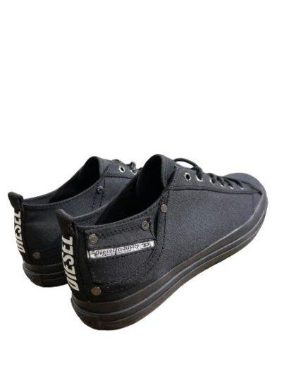 DIESEL – נעליים בצבע שחור דגם EXPOSURE LOW I