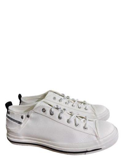 DIESEL – נעליים בצבע לבן דגם EXPOSURE LOW I
