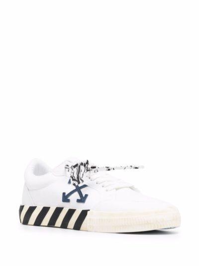 נעליים בצבע לבן דגם OFF-WHITE – WHITE NAVY BLU