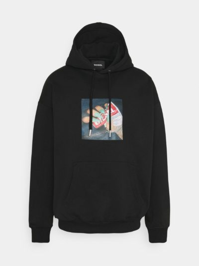 DIESEL – קפוצ'ון בצבע שחור דגם S-UMMER-A84