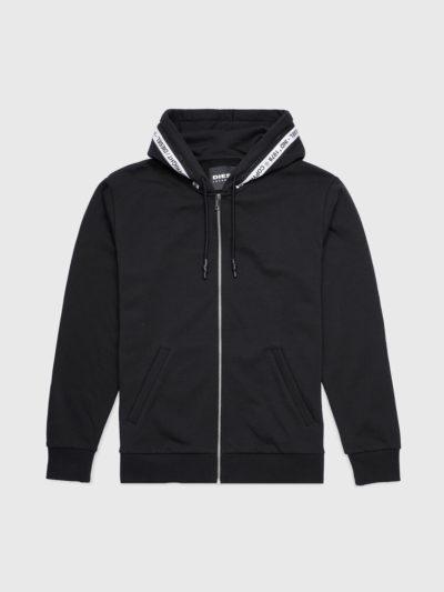 DIESEL – קפוצ'ון בצבע שחור דגם UMLT-BRANDON-Z