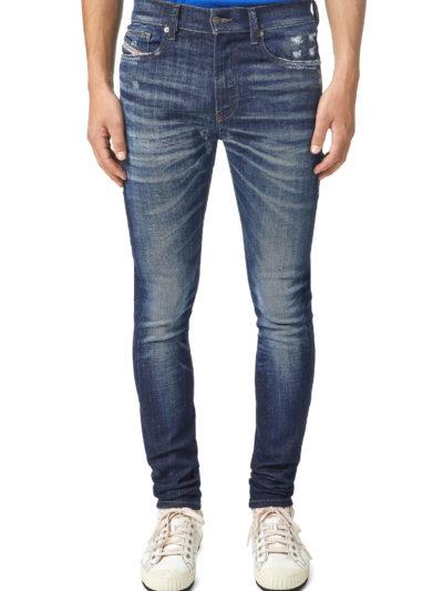 DIESEL – ג'ינס בצבע כחול דגם D-AMNY 09A85