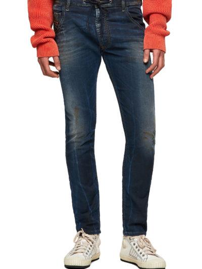 DIESEL – ג'ינס בצבע כחול דגם KROOLEY JOGG 069WR