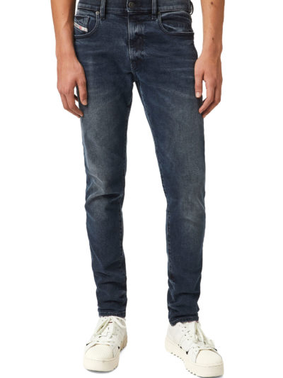 DIESEL – ג'ינס בצבע כחול דגם D-STRUKT 09B25