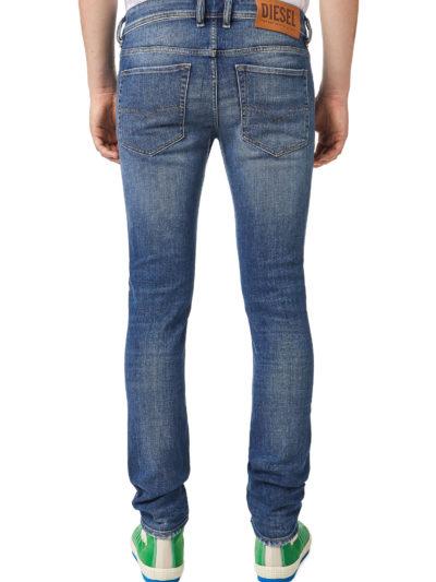 DIESEL – ג'ינס בצבע כחול דגם SLEENKER 09A86