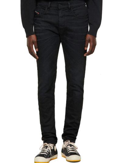 DIESEL – ג'ינס בצבע שחור דגם D-STRUKT 09A15