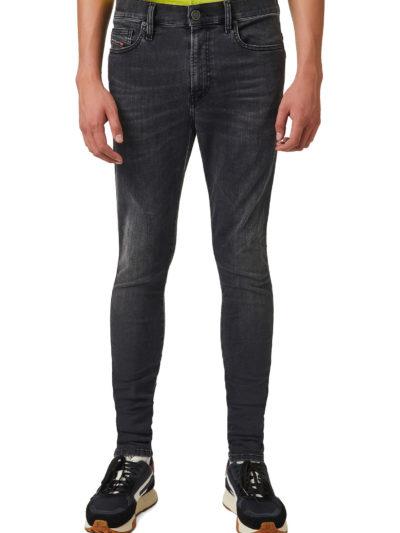 DIESEL – ג'ינס בצבע אפור דגם D-ISTORT 069YC