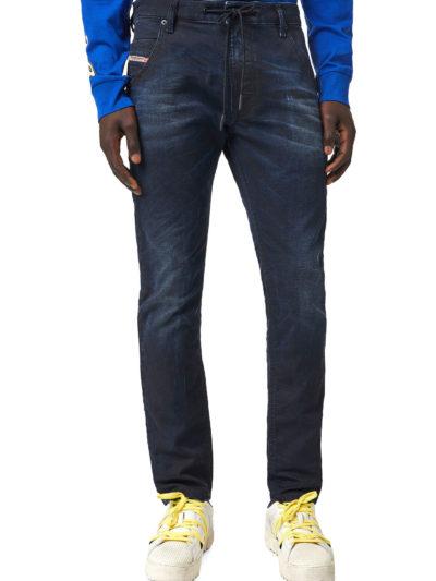 DIESEL – ג'ינס בצבע כחול דגם KROOLEY JOGG 069XM