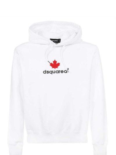 DSQUARED2 – קפוצ'ון בצבע לבן דגם S74GUO522