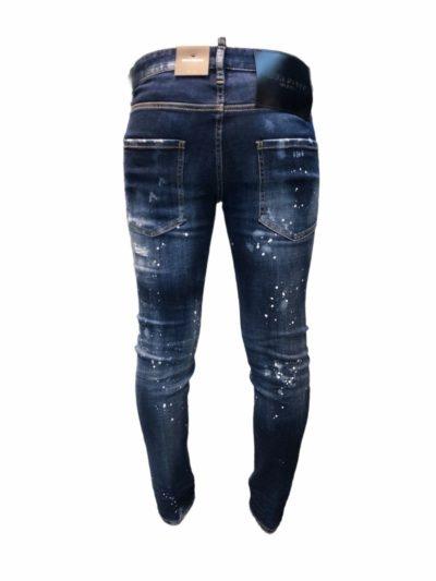 DSQUARED2 – ג'ינס בצבע כחול דגם SKINNY DAN JEAN
