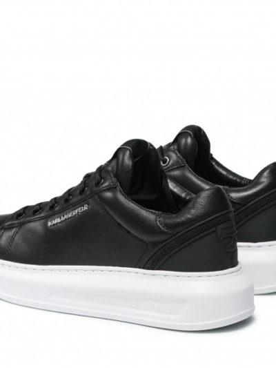 KARL LAGERFELD – נעליים קארל לגרפלד בצבע לבן דגם KARL KOUNTER IKON LO
