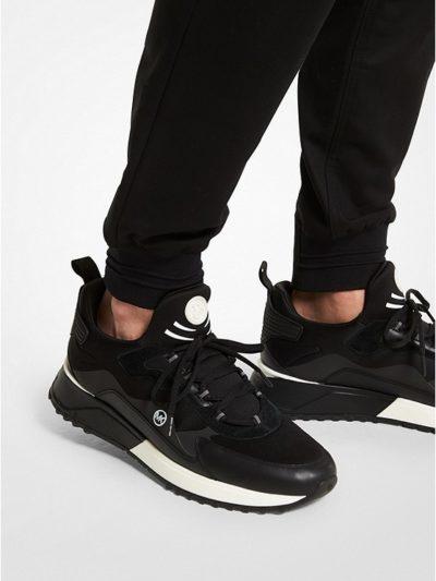 MICHAEL KORS – נעליים מייקל קורס בצבע שחור דגם THEO SPORT