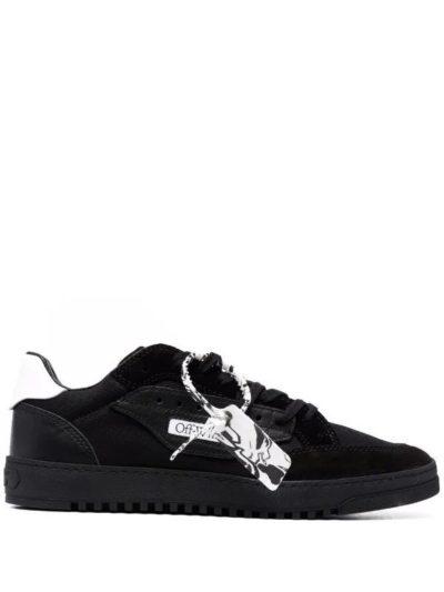 OFF-WHITE – נעליים בצבע שחור דגם 5.0 LOW TOP