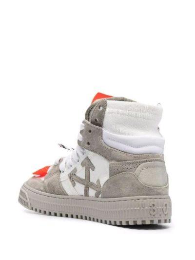 OFF-WHITE – נעליים בצבע ירוק זית דגם OFF COURT 3.0