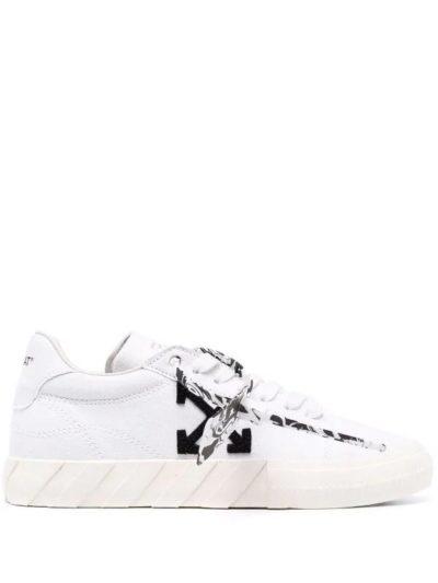 OFF-WHITE – נעליים בצבע לבן דגם ECO CANVAS WHITE BLACK