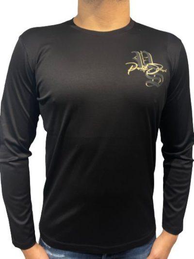 PAUL&SHARK – טישרט ארוך בצבע שחור דגם PAUL&SHARK T-SHIRT