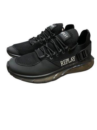 REPLAY – נעליים ריפליי בצבע שחור דגם DIRECTION SPORT